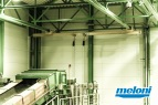 Estonia - Narva • Solid fuel automated handling system • Atex classified area designed • Maintenance monorails system