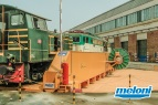Italy - Roma - Trains Maintenance Workshop • Wagon Traverser and Rotating Platform