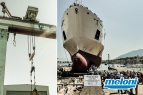 Italy - Ancona • Ship Construction • Below-the-hook attachments - Phase of testing